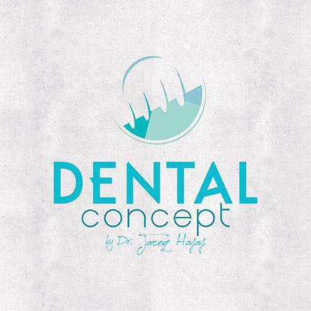 Logo design dental concept